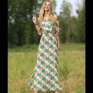 Shabby apple Bridget maxi dress size 10 NWT